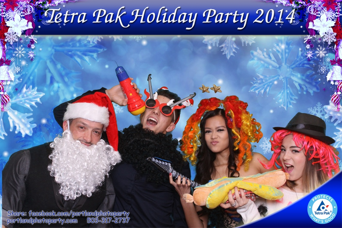 Photo booth, photobooth, corporate, company, party, Portland, Oregon, wedding logo, template, green screen, holiday party, Heathman Lodge, Vancouver, Tetra Pak, Tetrapak,  rental, rentals, for rent, photo entertainment, event photography