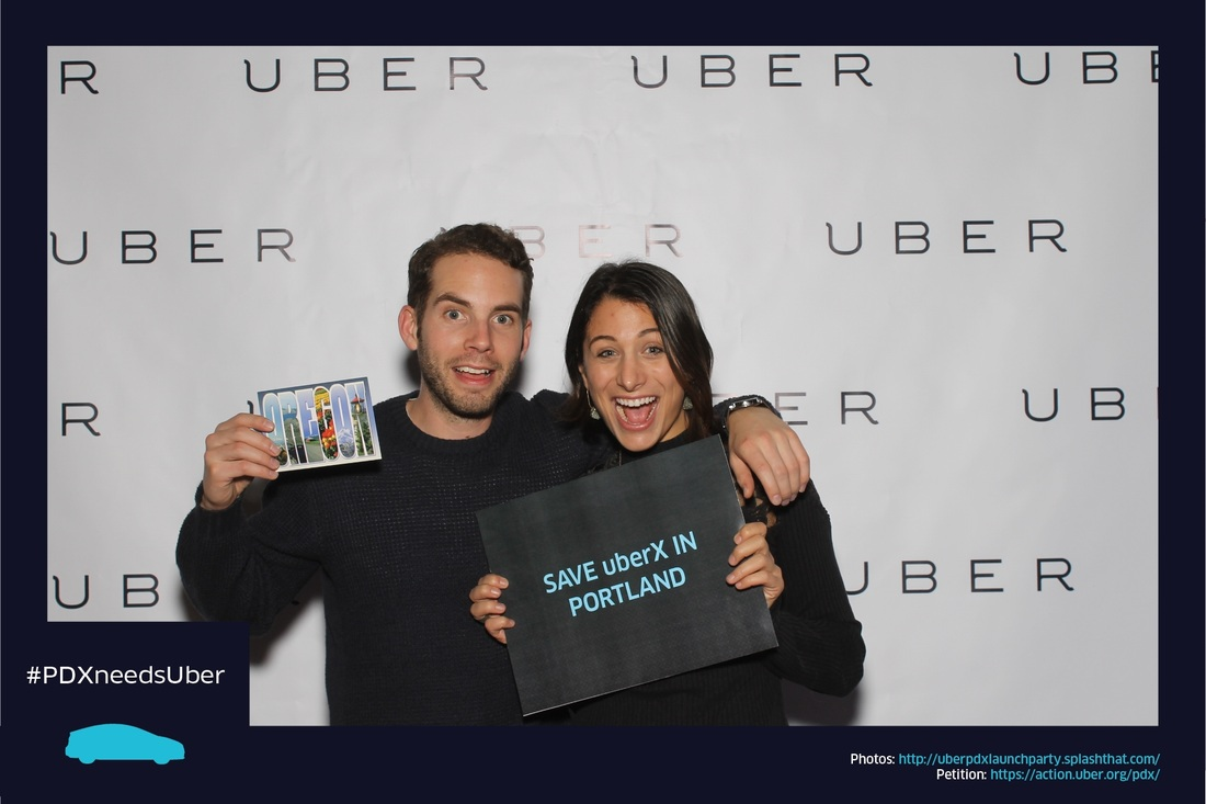 Photo booth, photobooth, company, corporate, event, Uber, Portland, Oregon, wedding logo, template, Union/Pine,   rental, rentals, for rent, photo entertainment, event photography